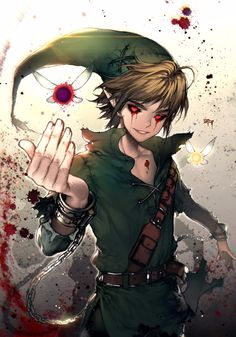 WOULD EVERYONE STOP WITH THE BEN DROWNED CREEPYPASTA PLEASE I'M TIRED OF LOOKING AT LINK WITH RED EYES OKAY