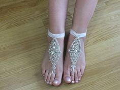 Rhinestone anklet, FREE SHIP Beach wedding barefoot sandals, Steampunk, Beach Pool, Sexy, Yoga, Anklet , Bellydance