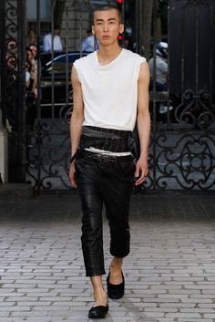Haider Ackermann Spring 2016 Menswear - Collection - Gallery - http://Style.com