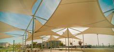 Sun Shade UAE is the best Sun Shade Structure manufacturer & suppliers in Dubai, UAE. We offer shade sail and custom made shading solutions to Protect You and Your Assets in Dubai. Sun Shade Tent, Outdoor Shade, Shade Sails, Fabric Structure, Shade Structure, Dubai Business, Car Parking, Parking Lot, Dubai Mall