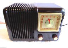 Trav LER Radio Bakelite Deco 5 Tube Gorgeous C 1949 Original M 5171 Working   eBay