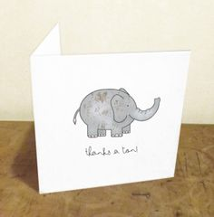 Valentine's Day Cards and Stationery Cute Thank You Cards, Cute Cards, Thank You Puns, Pun Card, Bday Cards, Valentine Day Cards, Valentines, Watercolor Cards, Funny Cards