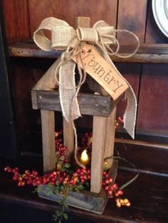 Primitive, Country, Vintage Farmhouse and Colonial Home Decor. We offer Rustic and Country primitives that will turn your house into a warm and inviting home. Craft Stick Crafts, Fall Crafts, Crafts To Make, Decor Crafts, Craft Ideas, Christmas Wood, Christmas Crafts, Christmas Decorations, Christmas Centrepieces