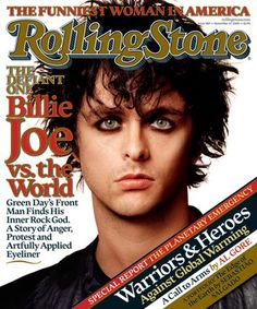 Billie Joe Armstrong - Rolling Stone Magazine November 2005