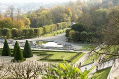 Domaine National de Saint-Cloud, just outside Paris.  It is the ideal spot for nature lovers with 460 hectares of gardens with fountains, sculptures, and majestic perspectives laid out by André Le Nôtre.