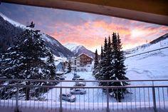 Hotel Banyan in Sankt Anton Am Arlberg, Austria Mountain View, 4 Star Hotels, Alps, Mount Rainier, Austria, Skiing, Summertime, The Incredibles, Mountains