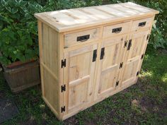 Rough cut cypress cabinet Reclaimed, Repurposed, Reused, Recycled