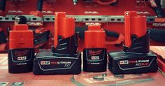Milwaukee M12 Battery Evolution - http://cf-t.com   #Batteries #Construction #Contractor #Electrician #M12 #Milwaukeetools #Newtools #Plumber #Smallbusiness