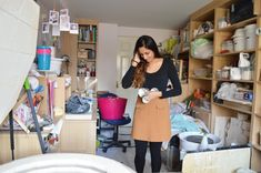Meet potter Sejal Patel from Sejal Ceramics, the part-time pharmacy worker who makes porcelain vases, bottles and planters with dashes of metallic detailing from the pottery in her converted garage. Porcelain Ceramics, China Porcelain, Indian Dolls, Black Lamps, Diy Doll, Wedgwood, Handmade Pottery, Stoneware, Dresses For Work