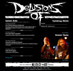 A website for my band, Delusions Of.    www.delusionsof.com