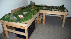 Lshaped Model Train Layouts large n scale track layouts | vjvamyemq