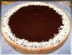 [foto] crostata crema, cioccolato e pere: la mia versione.