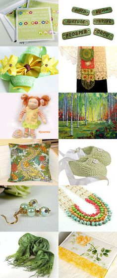 Blooming Spring by Creative Trends Team and Friends by Virginia Soskin on Etsy--Pinned with TreasuryPin.com