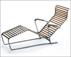 chaise longue, transat, Marcel Breuer, WB 346
