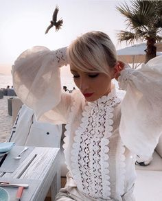 All White, Lace, Outfits, Clothes, Tops, Dresses, Women, Style, Fashion