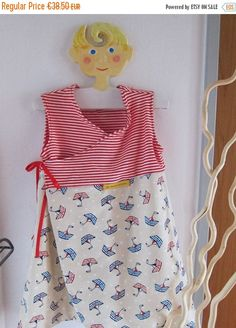 On Sale Sailing Away reversible dress 24 mo 92 cm