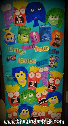 inside out red ribbon week say no to drugs
