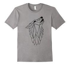 Wolf T Shirt, Wild Wolf, Cool T Shirts, Cool Stuff, Amazon, Mens Tops, Art, Fashion, Art Background
