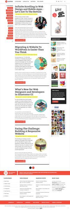 Modern #Wordpress #blogging and #magazine #theme