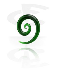 Spirale (Verre) | Crazy Factory magasin de piercings en ligne