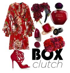 Box Clutch by pulseofthematter on Polyvore featuring polyvore fashion style Gucci Alexander McQueen Effy Jewelry NARS Cosmetics Christian Dior women's clothing women's fashion women female woman misses juniors