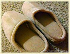 natures sleep closed toe  http://mycharmedmom.com/2014/01/natures-sleep-closed-toe-memory-foam-slippers-review/