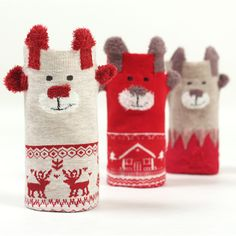 [La MaxPa] 2017 New Winter Warm Christmas Socks Deer Elk kawaii Xmas Socks for Women Girls Merry Christmas Gifts 3Pairs/lot #Affiliate