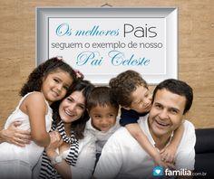 Melhorando como pais e mães: Seguindo o exemplo de nosso Pai Celestial
