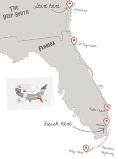 Florida road trip 10 days (after Disneyland?)