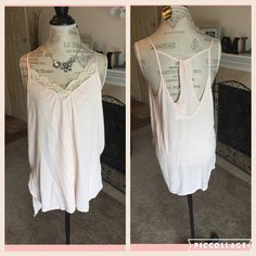 Super cute soft  pink color hi lo summer top. Firm unless bundled. Thank you for understanding.  Lush Tops Blouses