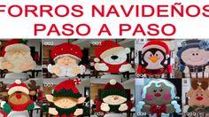Forros para sillas navideñas (Papa y Mama Noel) Teddy Bear, Christmas Ornaments, Holiday Decor, Ideas, Goal, Crochet Bags, Sewing Blogs, Noel, Christmas Jewelry