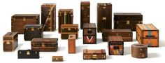 Since 1854 the House of Louis Vuitton made trunks for explorers, adventurers, princes, elegant ladies, and artists.