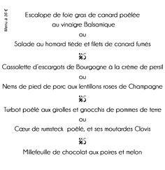 LE JAMIN ( La table ) Math Equations, Table, Salad Menu, Lobster Salad, Balsamic Vinegar, Tables, Desk, Tabletop, Desks