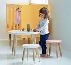 Babybett Hocker Tisch FLEXA PLAY