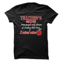 (Top Tshirt Discount) Teachers Mom [TShirt 2016] Hoodies Tee Shirts