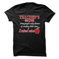 (Top Tshirt Discount) Teachers Mom [TShirt 2016] Hoodies Tee Shirts