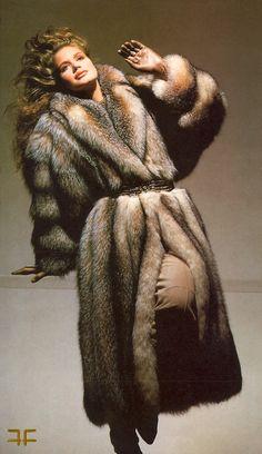 All Things Stylish And Furry Fur Fashion, Womens Fashion, Fox Fur Coat, Fur Coats, Fabulous Furs, Vintage Fur, Night Gown, Different Styles, Mantel
