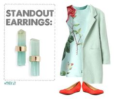 """""""Standout Earrings"""" by mnbirdy ❤ liked on Polyvore featuring Melissa Joy Manning, Chicwish, French Sole FS/NY, women's clothing, women's fashion, women, female, woman, misses and juniors"""