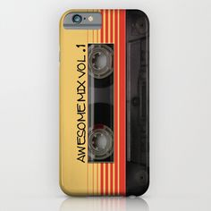 Buy Awesome Mix Vol. 1 - Guardians of the galaxy by Nicklas Gustafsson as a high quality iPhone & iPod Case. Worldwide shipping available at Society6.com.…
