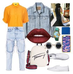 """It's the Journey before the Destination✈😍"" by kamillebriana-kd on Polyvore featuring Skinnydip, Gap, Topshop, Vans, Tommy Hilfiger, Lime Crime, Chanel and Polo Ralph Lauren"