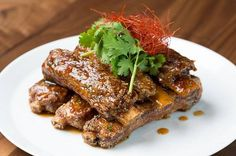 Hoisin Chili Sticky Spare Ribs Recipe from Morimoto Asia at Downtown Disney Springs in Disney World