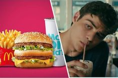 Order Some McDonald's, And We'll Reveal Whether Your Soulmate Is More Like Jamey Or Peter Kavinsky Grilled Chicken Salad, Fried Chicken, Richard And Maurice Mcdonald, Corn Pie, Soulmate Quiz, Chocolate Sundae, Cole Sprouse Funny, Large Fries, Barbecue Restaurant