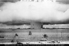 Science Poster Atomic Bomb Bikini Atoll Test 24x36 Nuclear Military 1946 | eBay