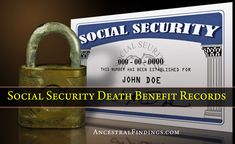 Have you tried searching the Social Security Death Benefit Index during your genealogy research? If not, now's the time to get started. Here's how to use it.