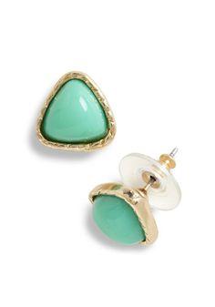 Can't Wait for Wintergreen Earrings, #ModCloth @Jessica Villegas