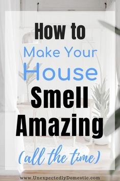 How to keep your house smelling good all the time naturally! These amazing fresh smelling home tips & hacks will work even with pets. Get rid of bad smells!Awesome Cleaning tips hacks are offered on our internet site. Take a look and you wont be sorr Household Cleaning Tips, Deep Cleaning Tips, House Cleaning Tips, Diy Cleaning Products, Spring Cleaning Tips, Clean House Tips, Deep Clean House, Cleaning With Vinegar, Best Carpet Cleaning Solution