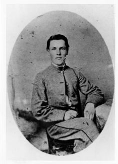 J. Beverly Stanard, VMI cadet mortally wounded at the Battle of New Market, as he looked in 1863 :: VMI Archives Photographs Collection