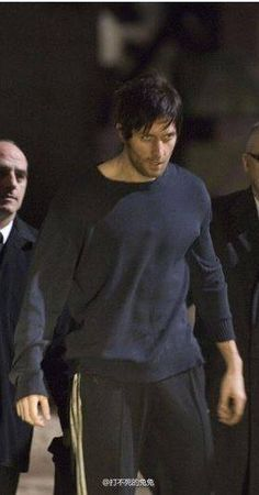 """This is Richard's first scene in Season 7 of """"Spooks"""". Called MI-5 in the US.  Lucas North has been in a Russian prison for 8 years and is being quietly exchanged. Richard lost about a stone's weight to look like this."""