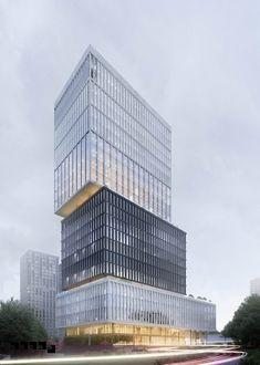 "Технопарк ""Навигатор"" #BADR5 Skyscraper, Multi Story Building, Projects, Log Projects, Skyscrapers"