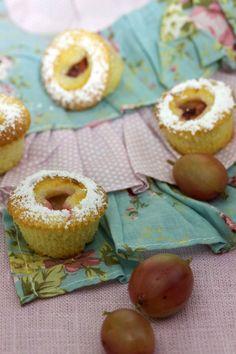 Mini Stachelbeer-Küchlein         Gooseberry Minis